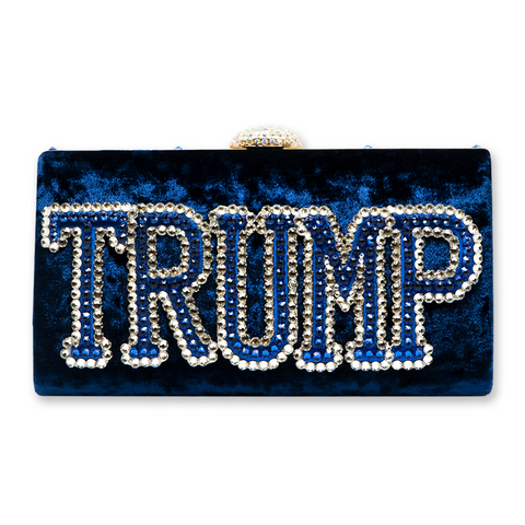 Bling Clutch - Blue