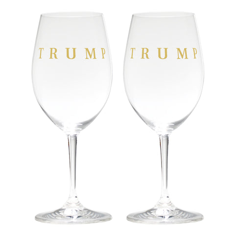 Trump Riedel Red Wine Glass