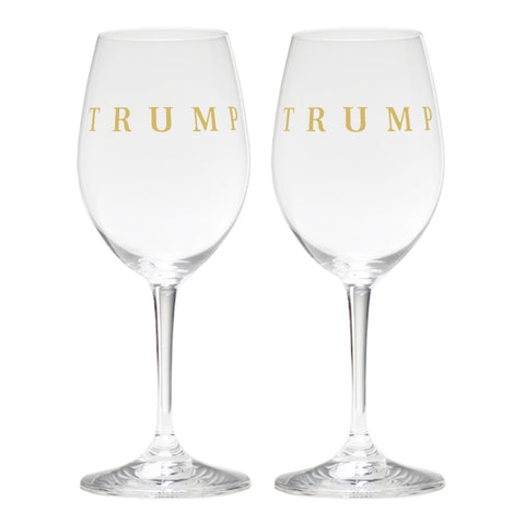 Trump Riedel White Wine Glass