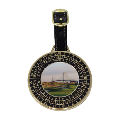 Trump Ferry Point Yardage Bag Tag