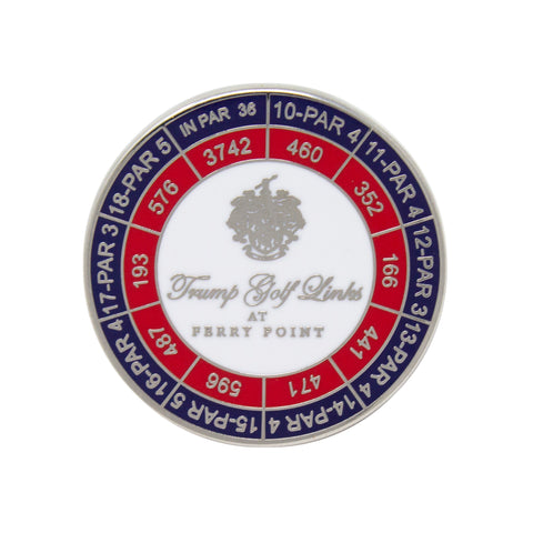 Trump Ferry Point Ball Marker
