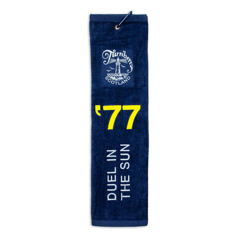 Duel in the Sun Trifold Golf Towel