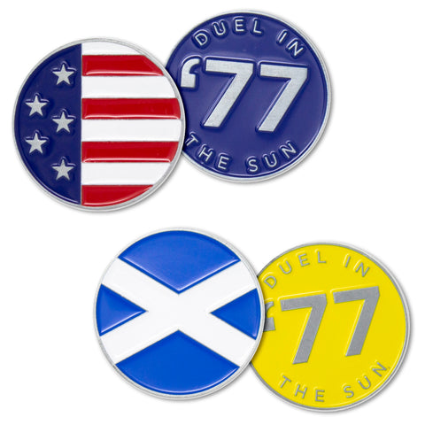 Turnberry set of 2 ball markers