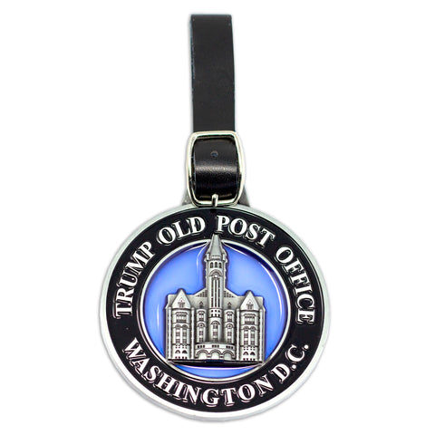 Trump Hotel Washington D.C. Stain Glass Bag Tag