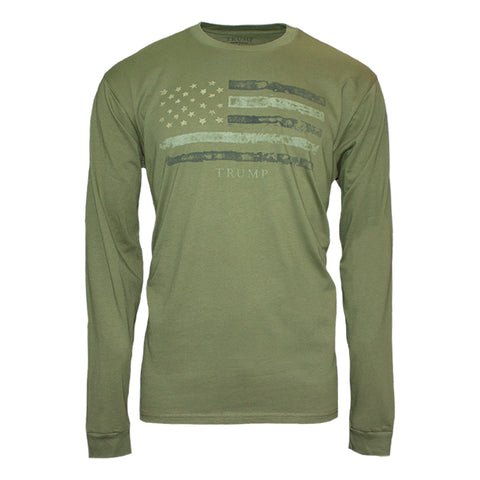 Camo Flag Long Sleeve