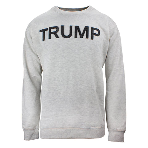 Collegiate Trump Crew Neck - Oatmeal