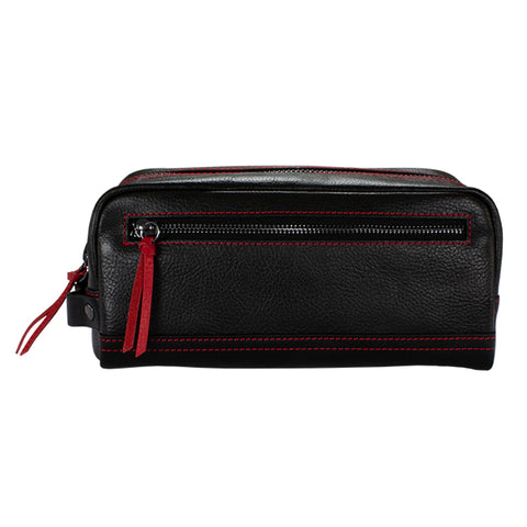 Jetsetter Leather Dopp Kit