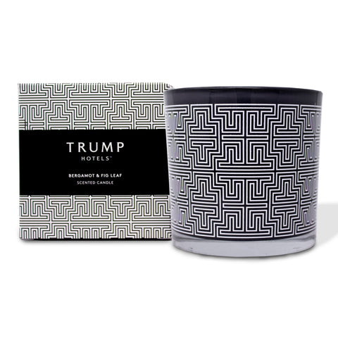 Trump Hotels Bergamot & Fig Leaf Candle