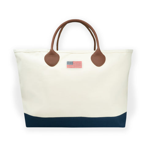 Summer Canvas Tote