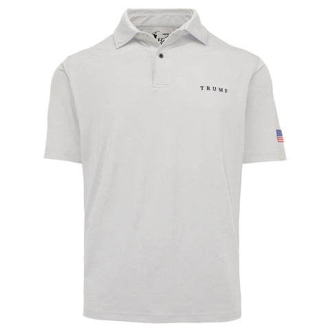 Classic Solid Tech Polo - Pure White