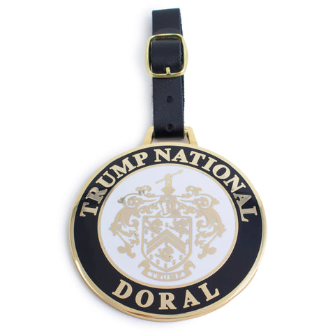 Trump National Doral Cloisonné Bag Tag