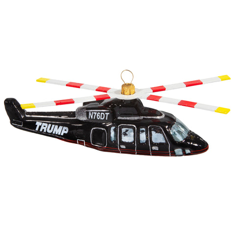Trump Helicopter Ornament