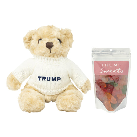 Teddy Bear + Gummy Bear Gift Set