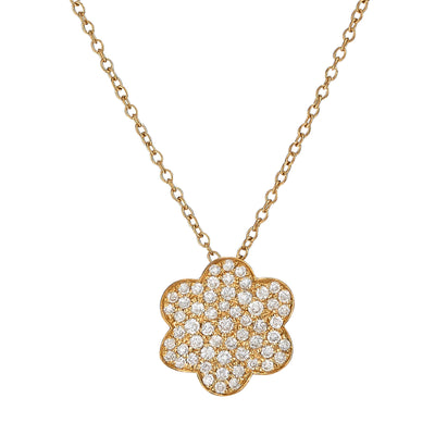 Pave Diamond Amelie Necklace