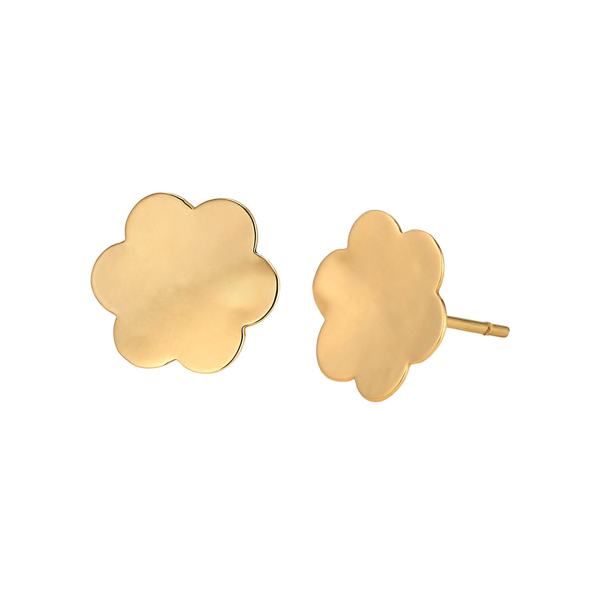 Gold Amelie Studs