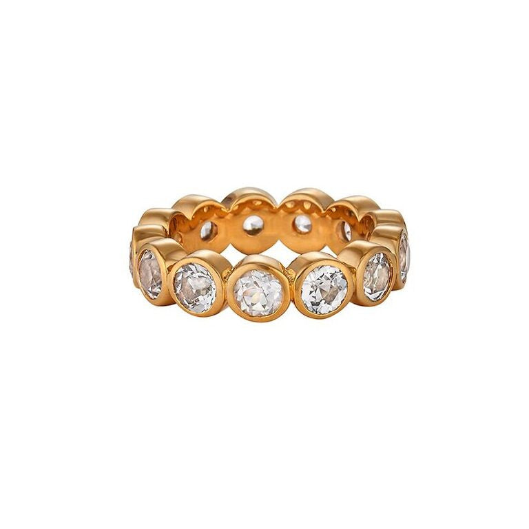 Celia Ring White Topaz