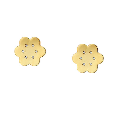 Diamond Amelie Studs