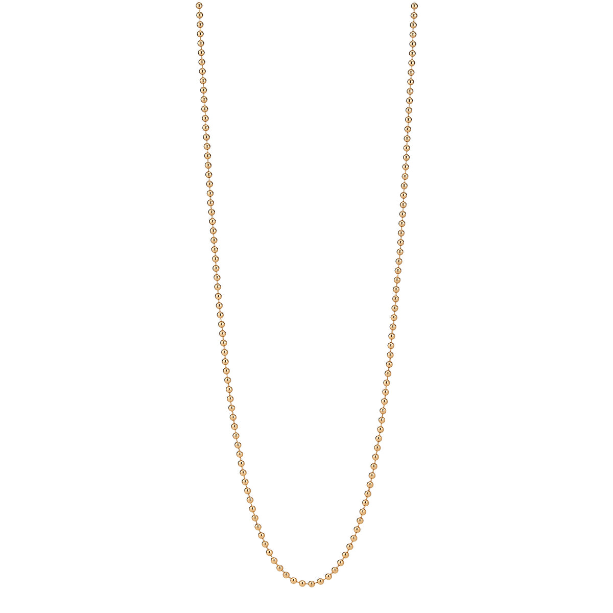 Vermeil Beaded Chain