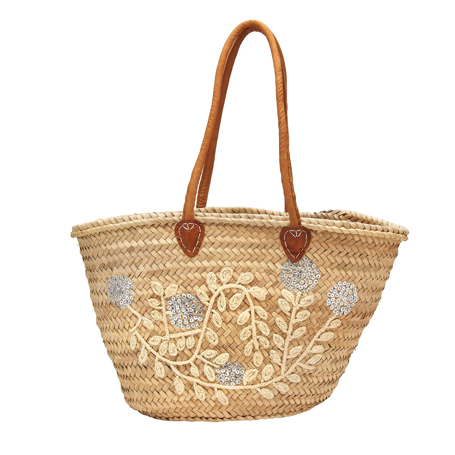 Berry & Vine Sequin Basket