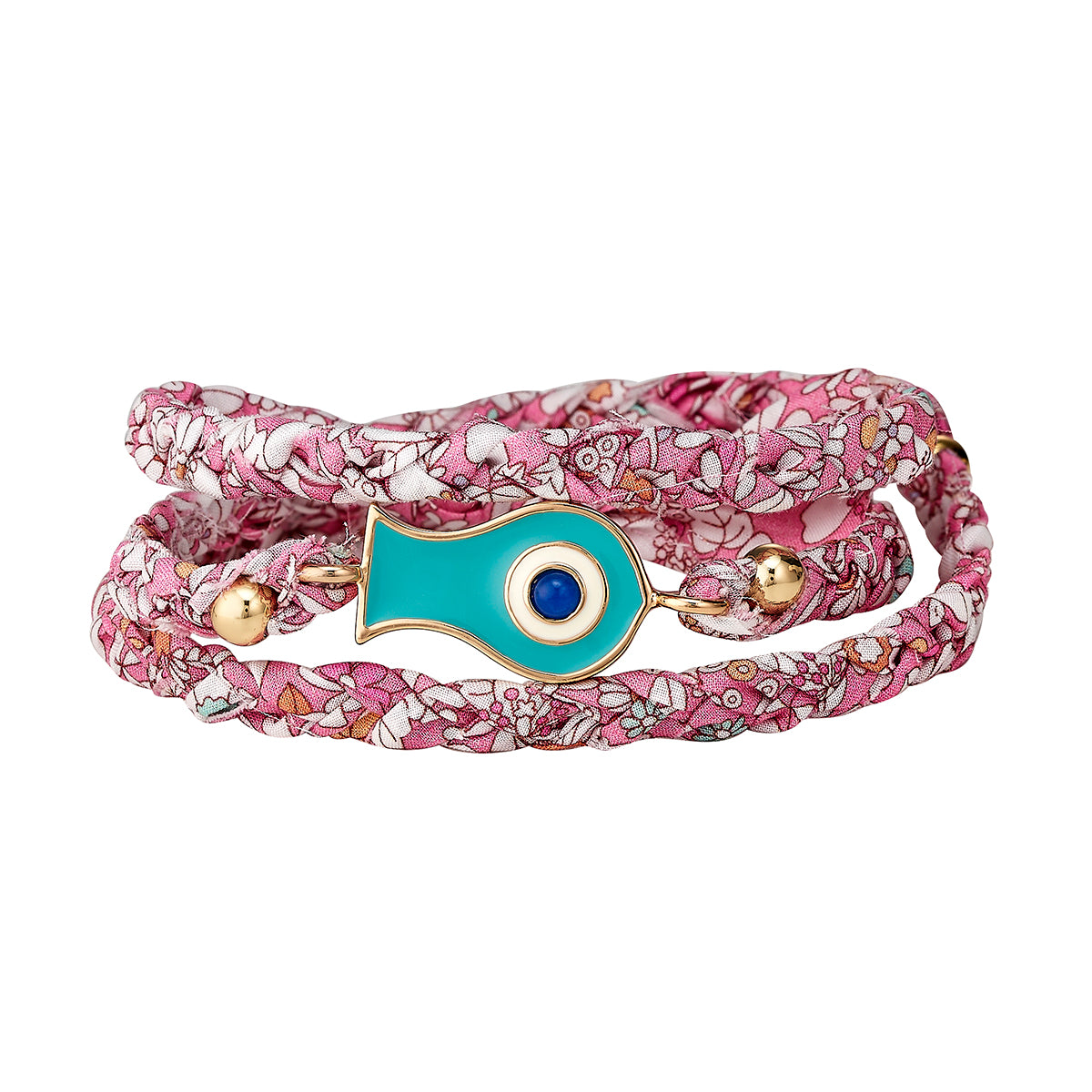 Bright Pink Fish Liberty Wrap