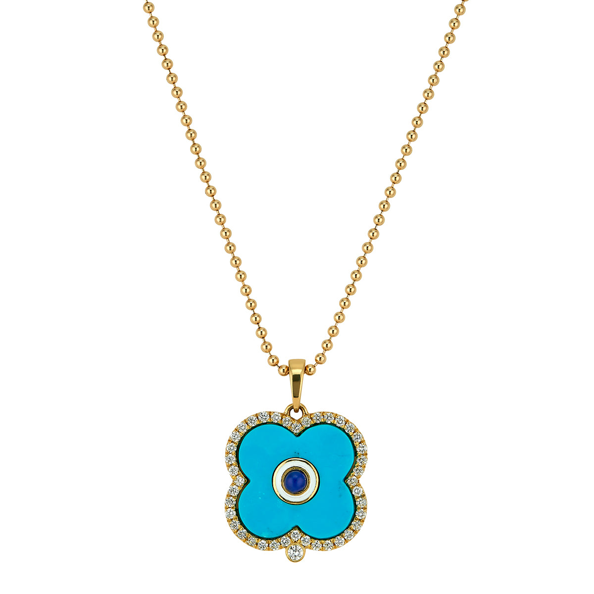 Pave Diamond Evil Eye