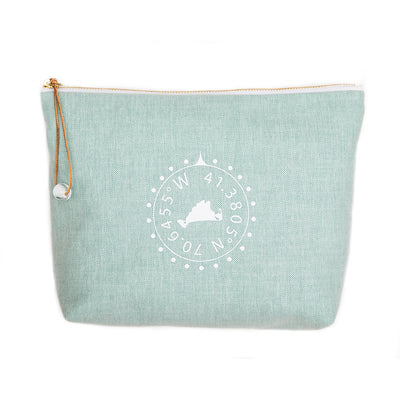 Martha's Vineyard Travel Pouch