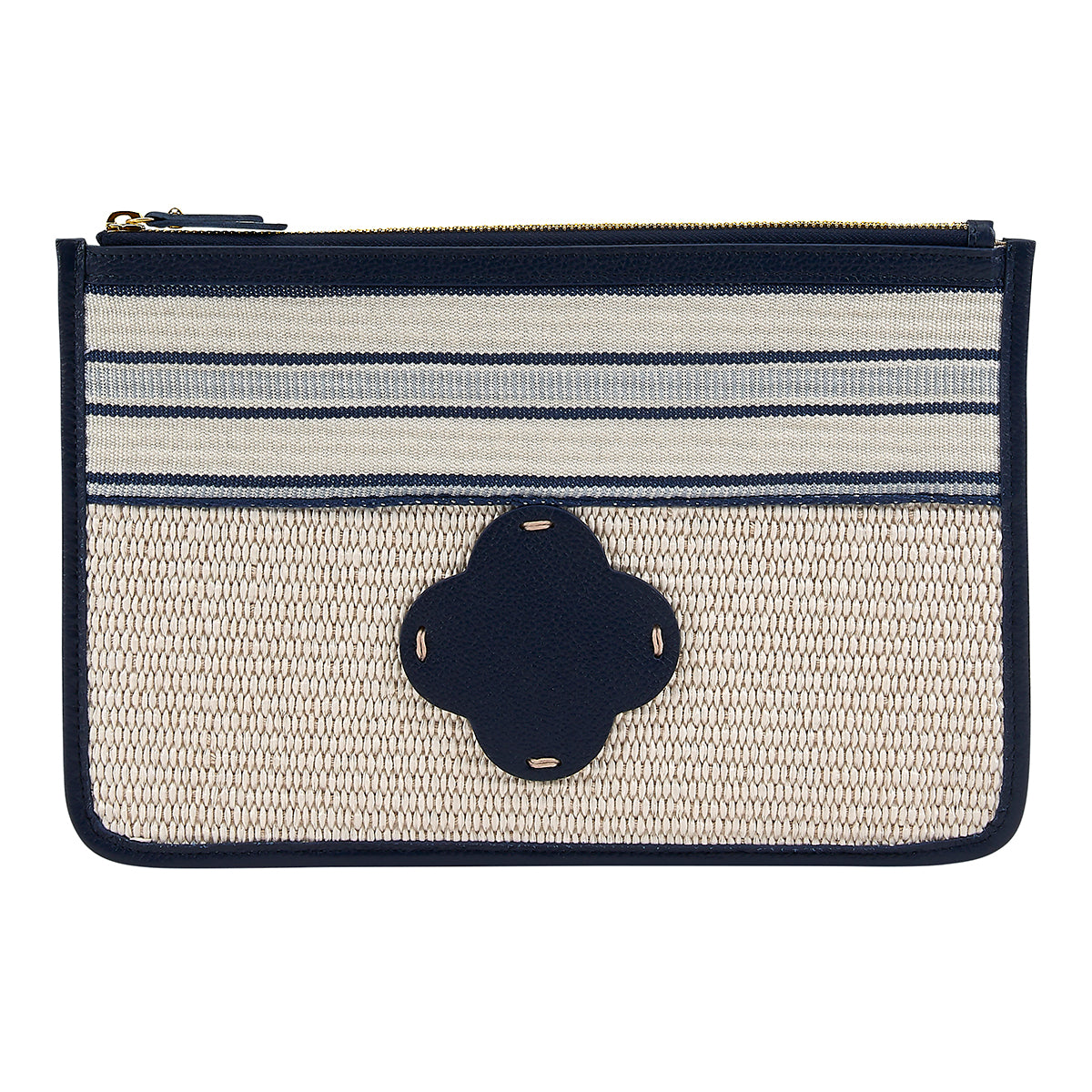 Nantucket Clutch Navy
