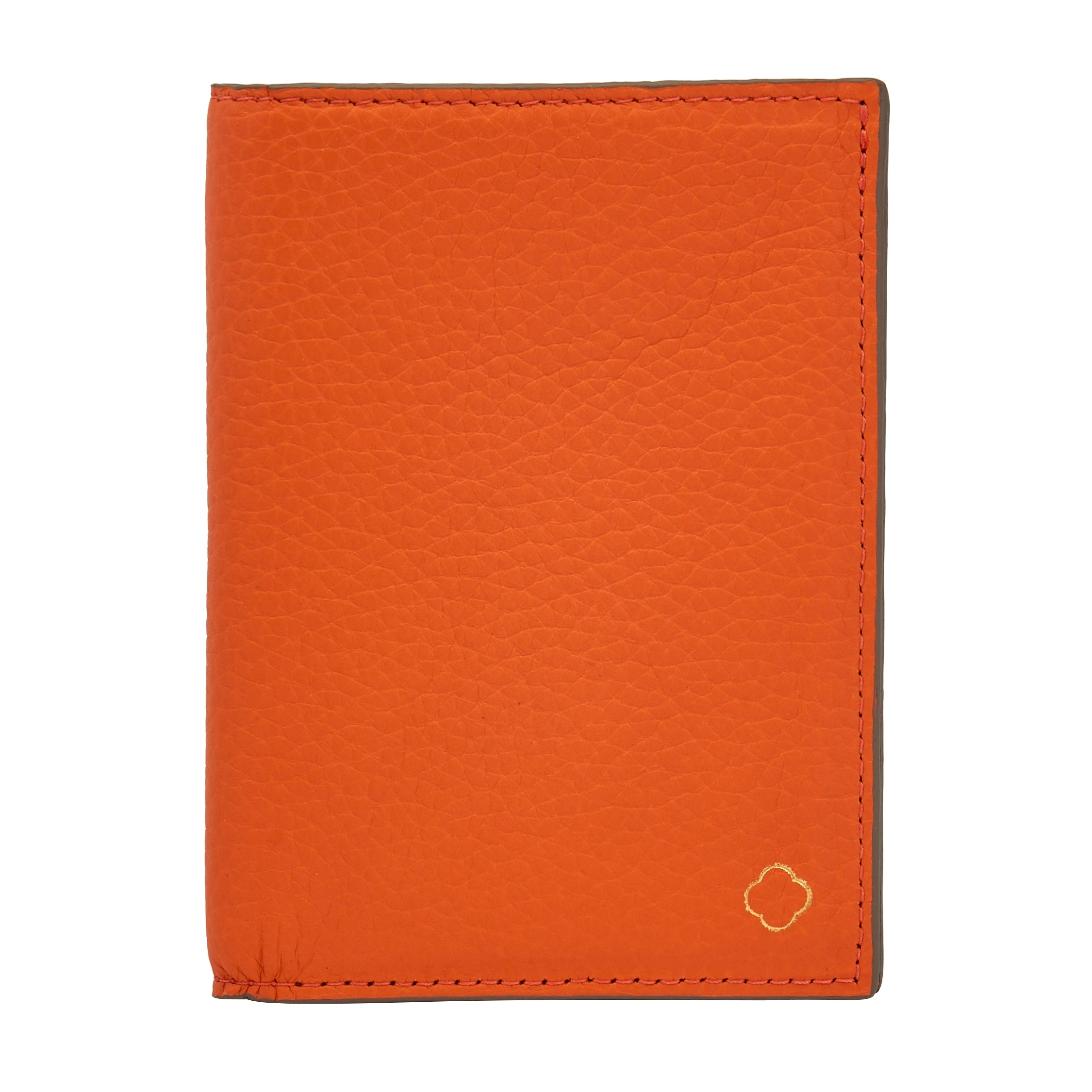 Passport Case Orange