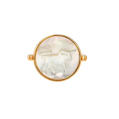 Zodiac Sleek Ring