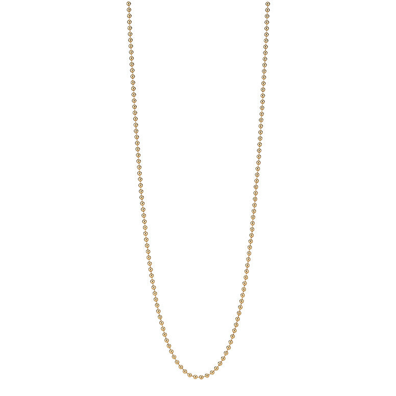 "Gold 18"" Beaded Chain"