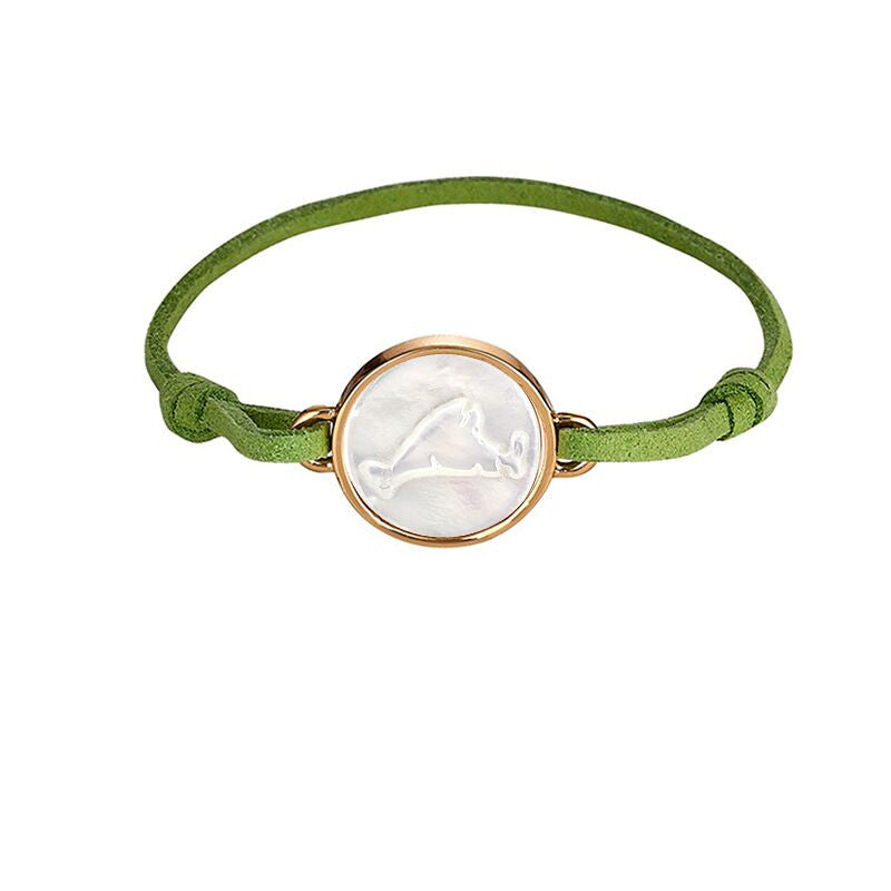 Martha's Vineyard Green Suede Bracelet