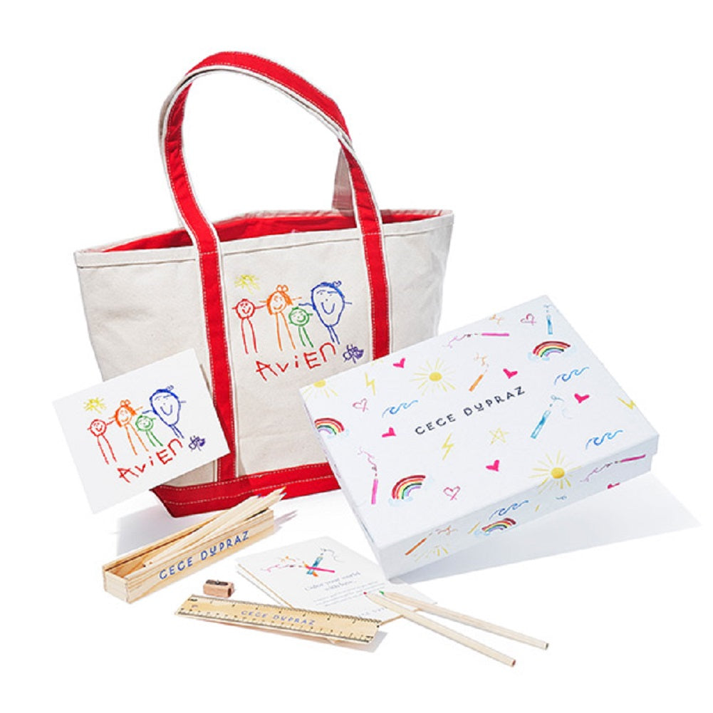 Cece Dupraz Children's Custom Artwork Gift Set
