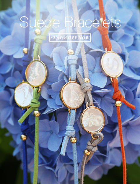 Feature : Suede Bracelets