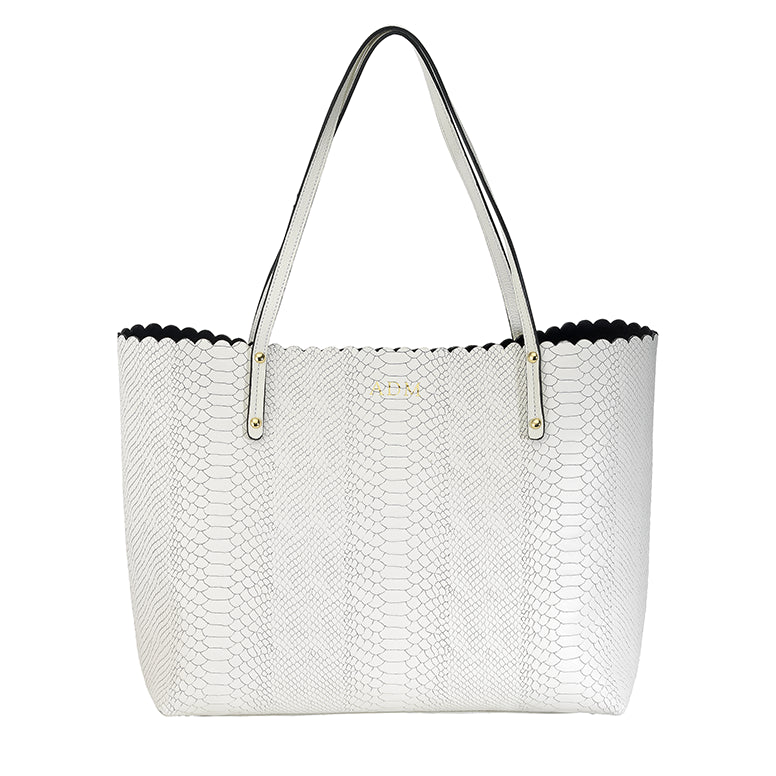 Waverly Tote White