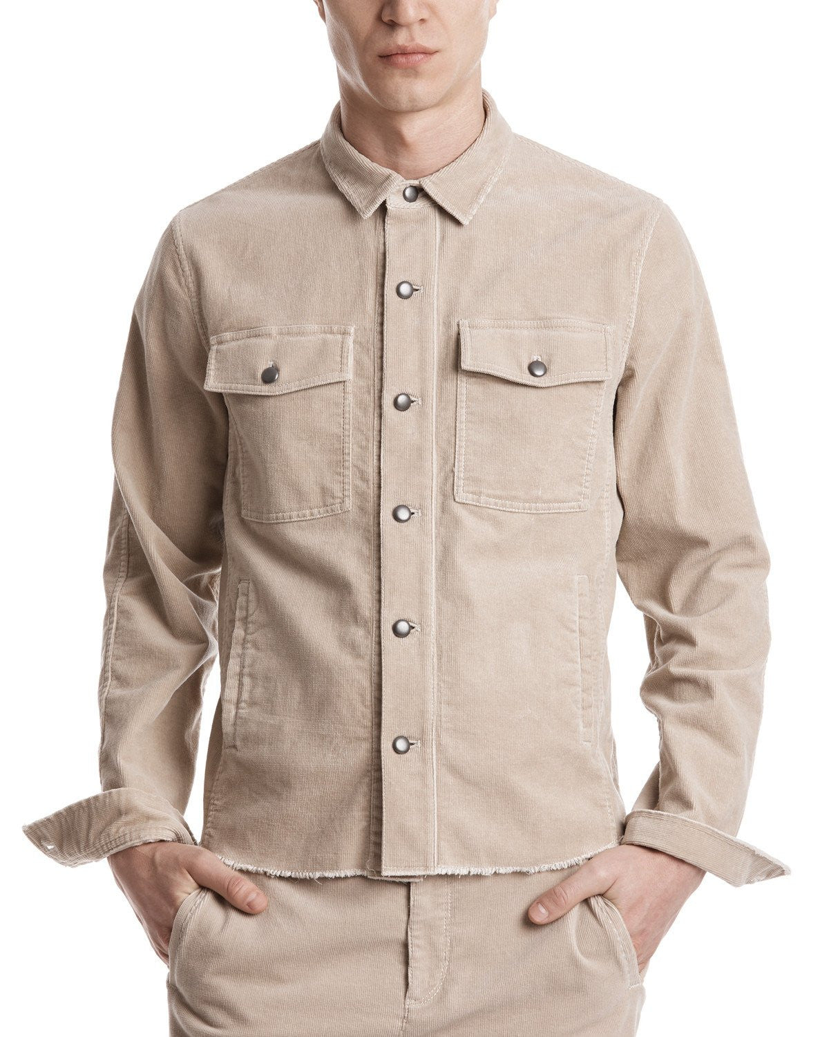 ATM Washed Corduroy Overshirt