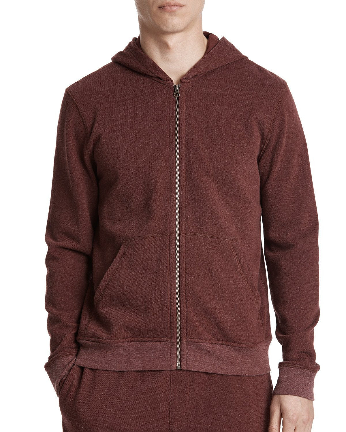 ATM French Terry Zip-Up Hoodie