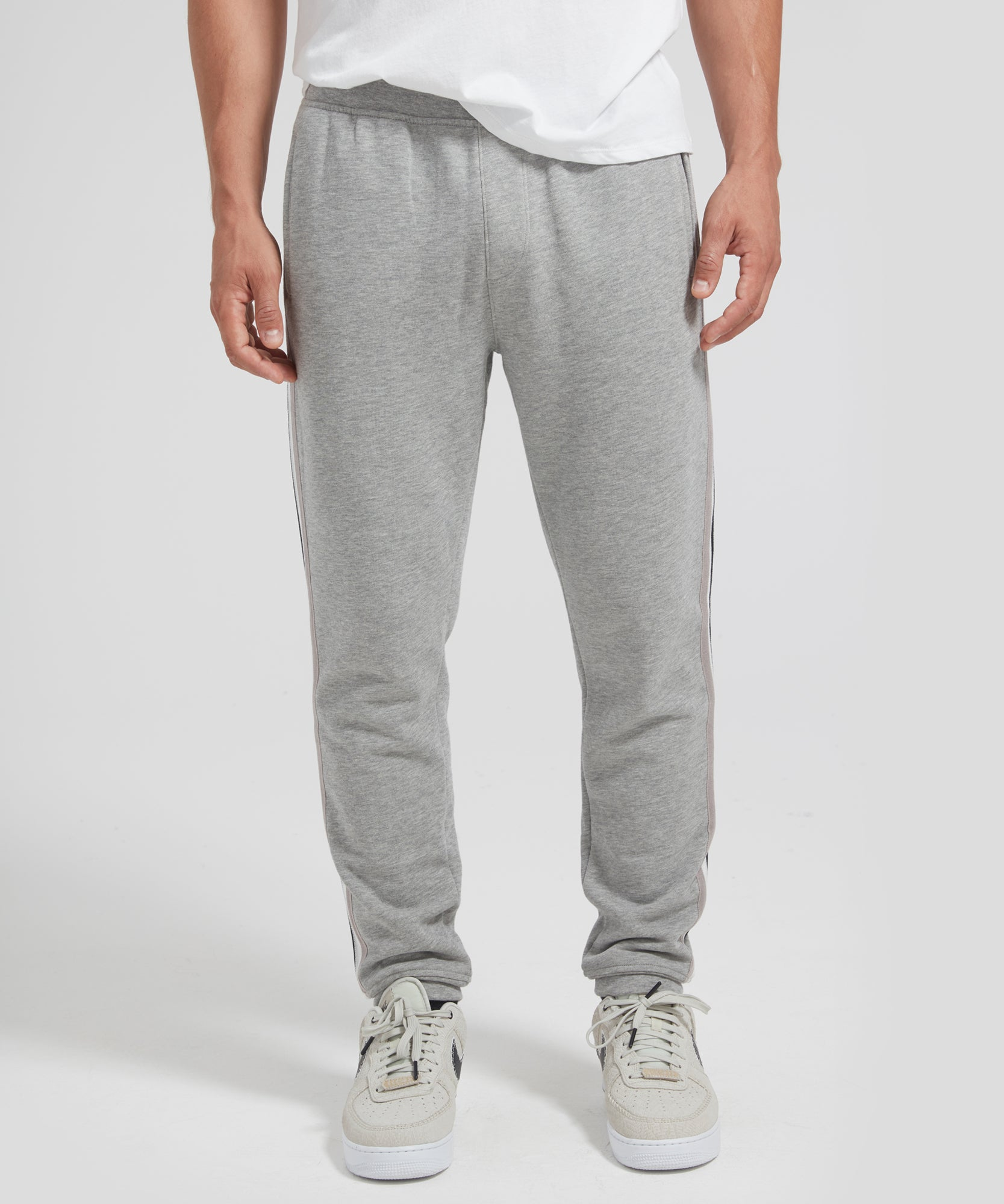 ATM French Terry Racing Stripe Sweatpants