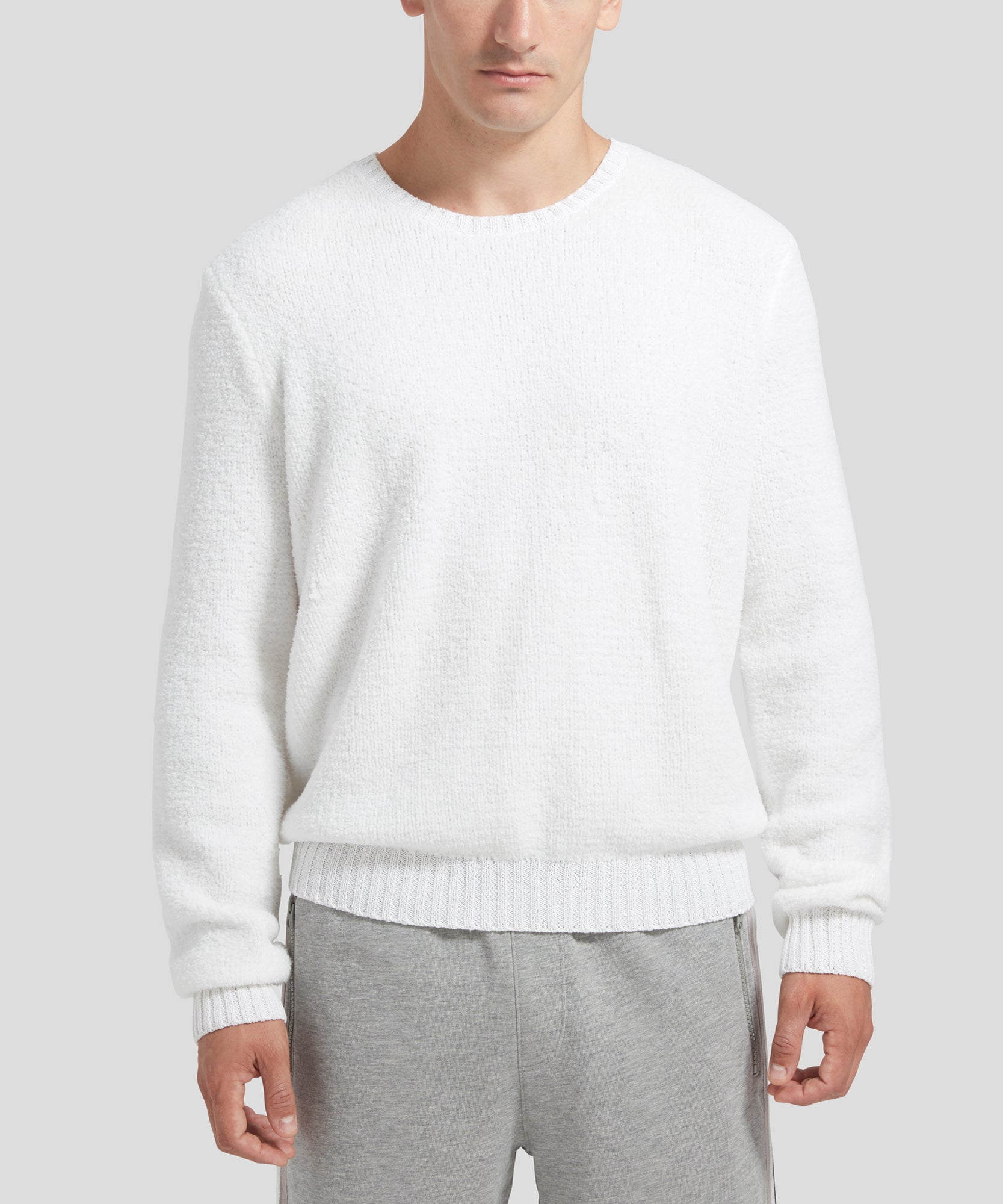 ATM Chenille Crew Neck Sweater