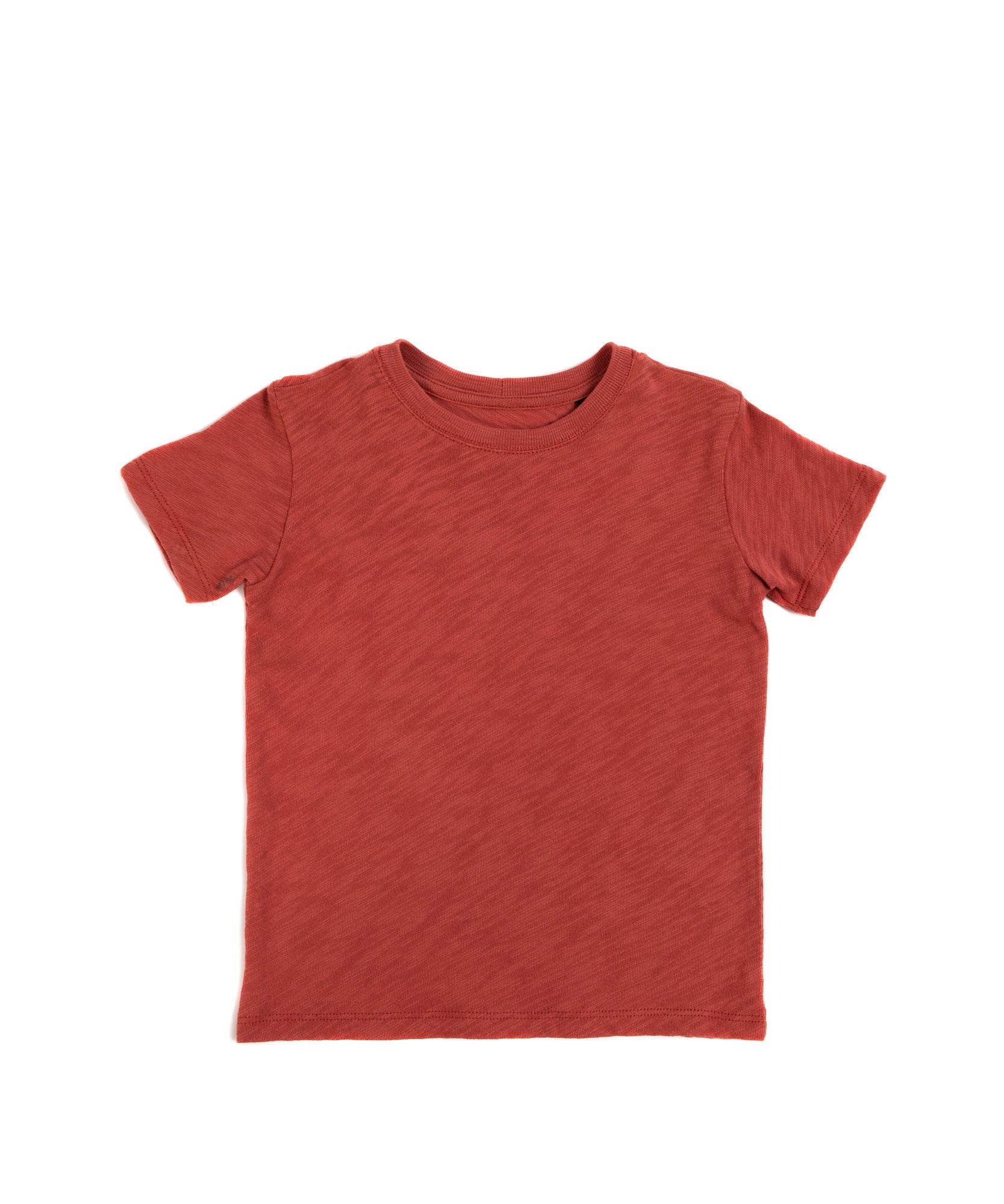 Cedar Kids Slub Jersey Short Sleeve Tee - Kid's Cotton Short Sleeve Tee by ATM Anthony Thomas Melillo
