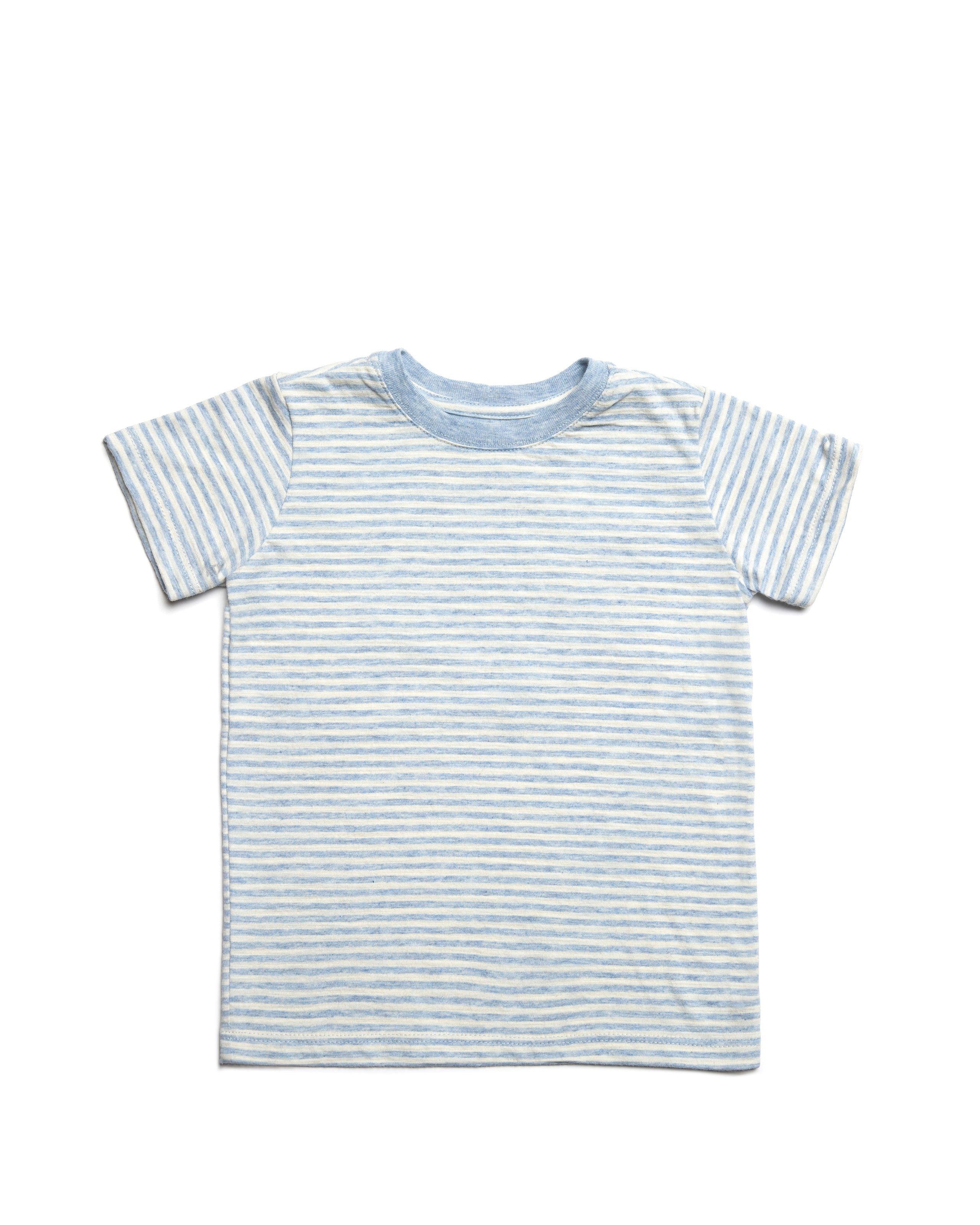 ATM Kids Striped Slub Jersey Short Sleeve Tee