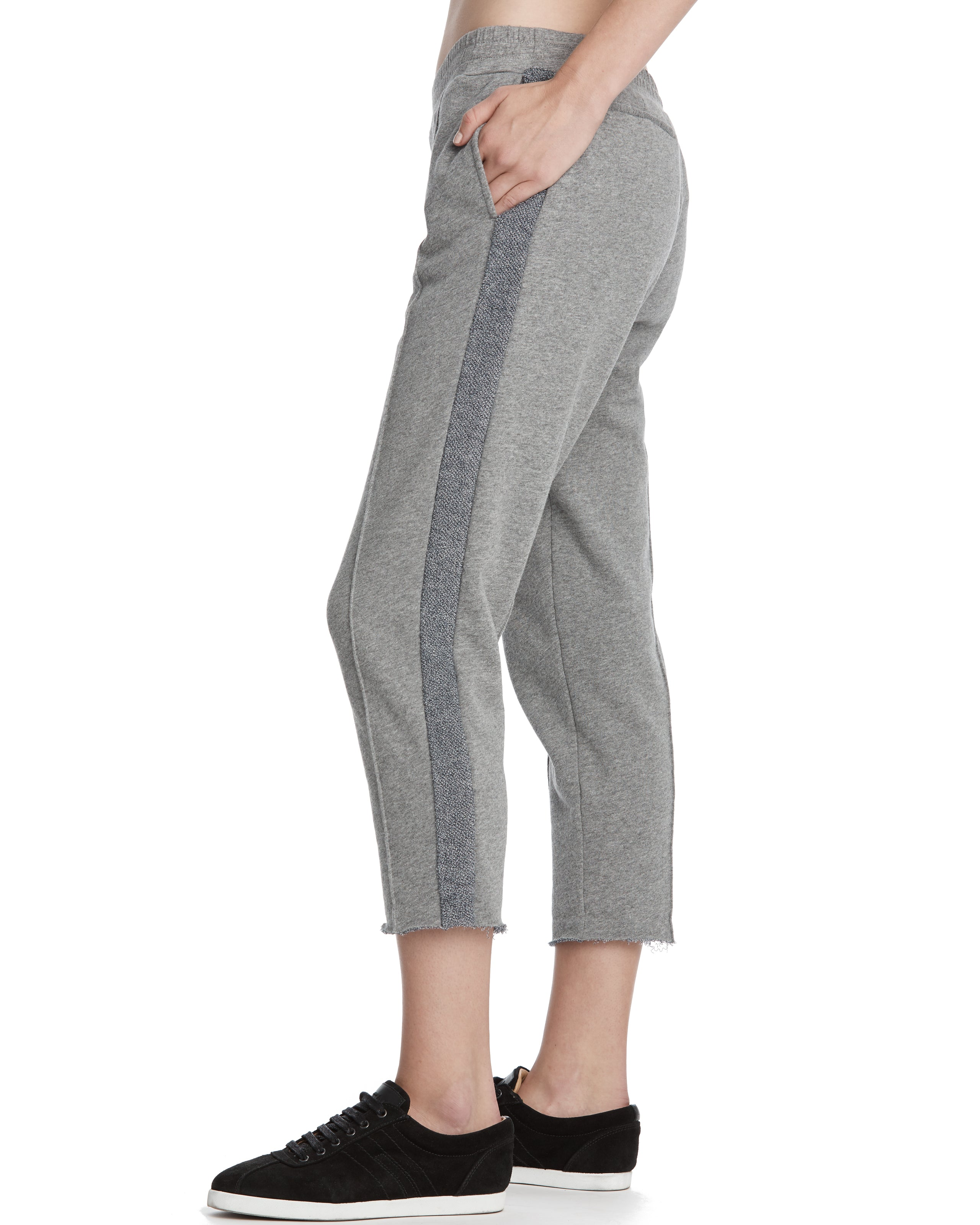 ATM French Terry Cropped Sweat Pant
