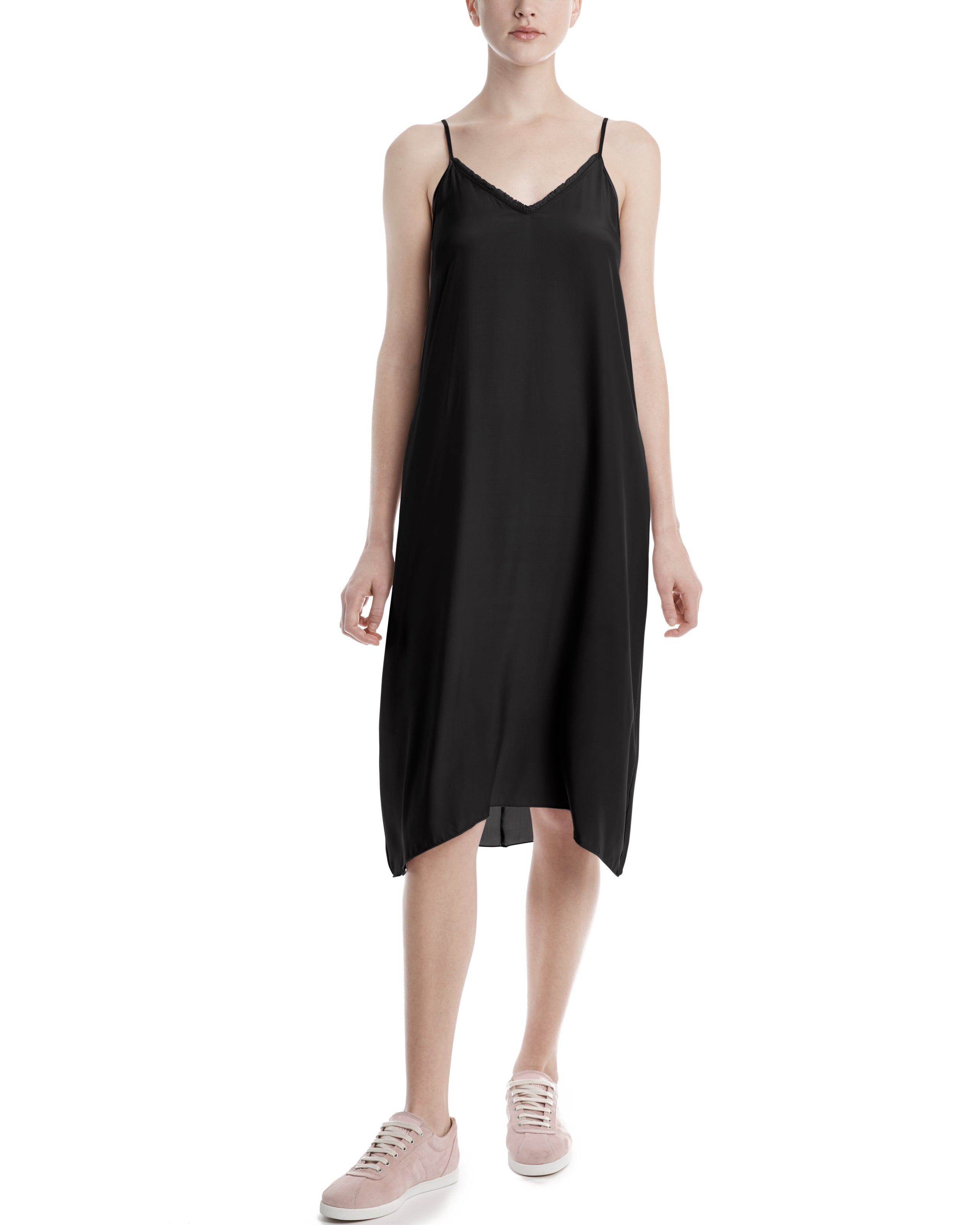 ATM Silk Charmeuse Slip Dress