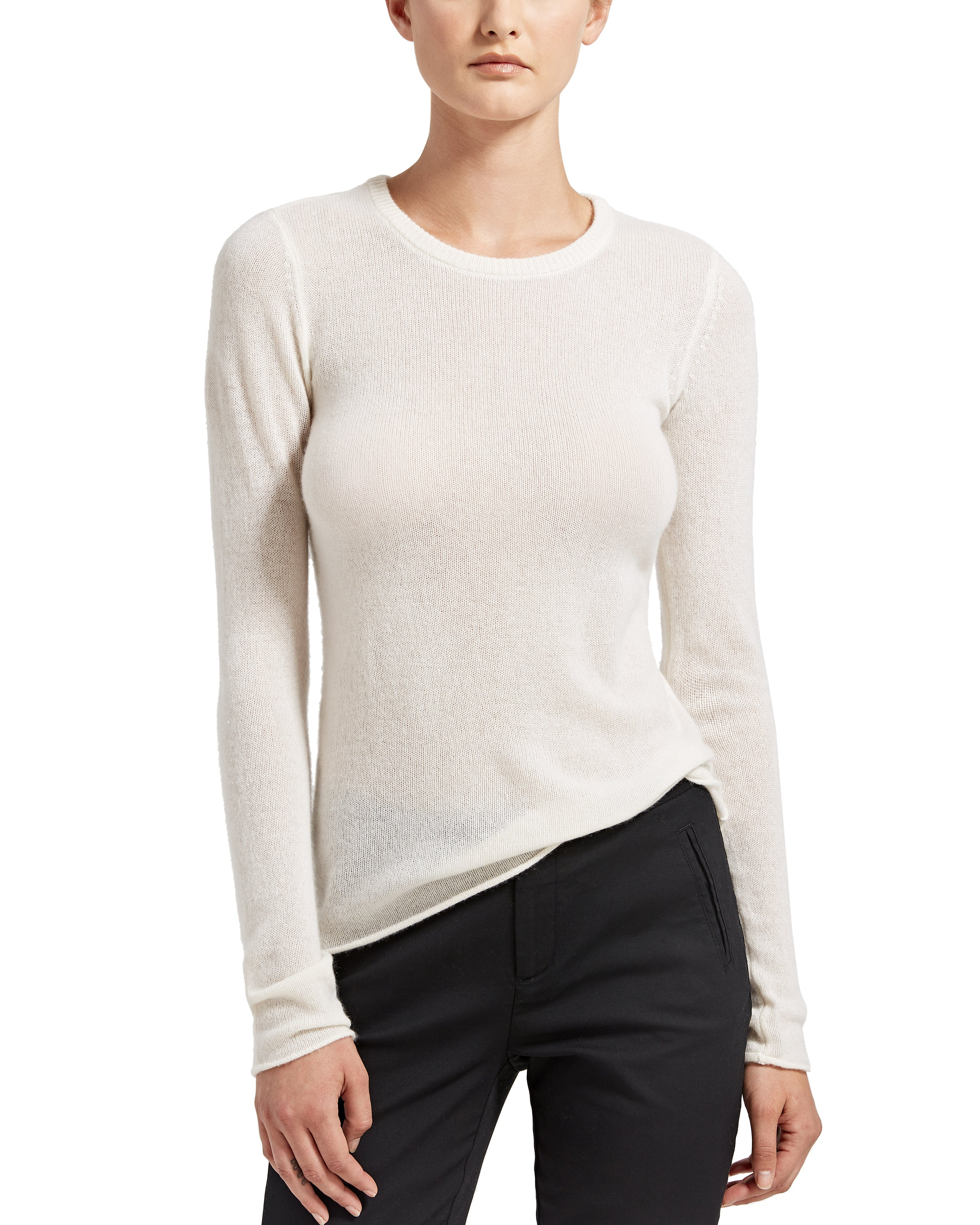 ATM Cashmere Crew Neck Sweater