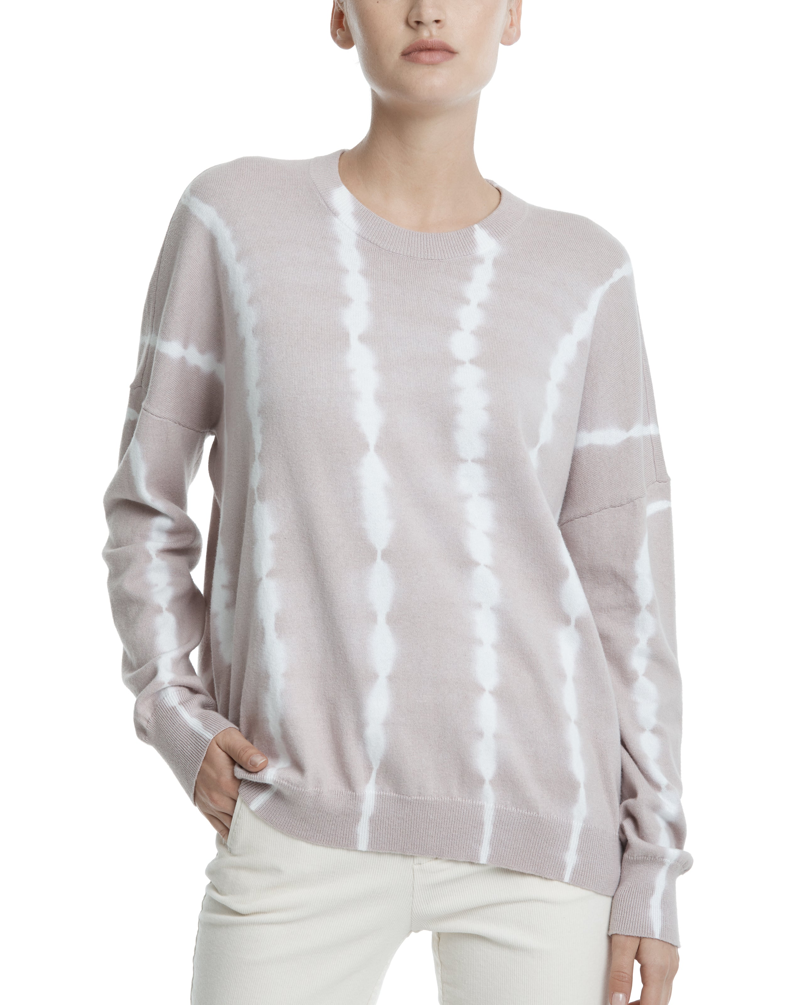ATM Cotton Cashmere Tie Dye Sweater