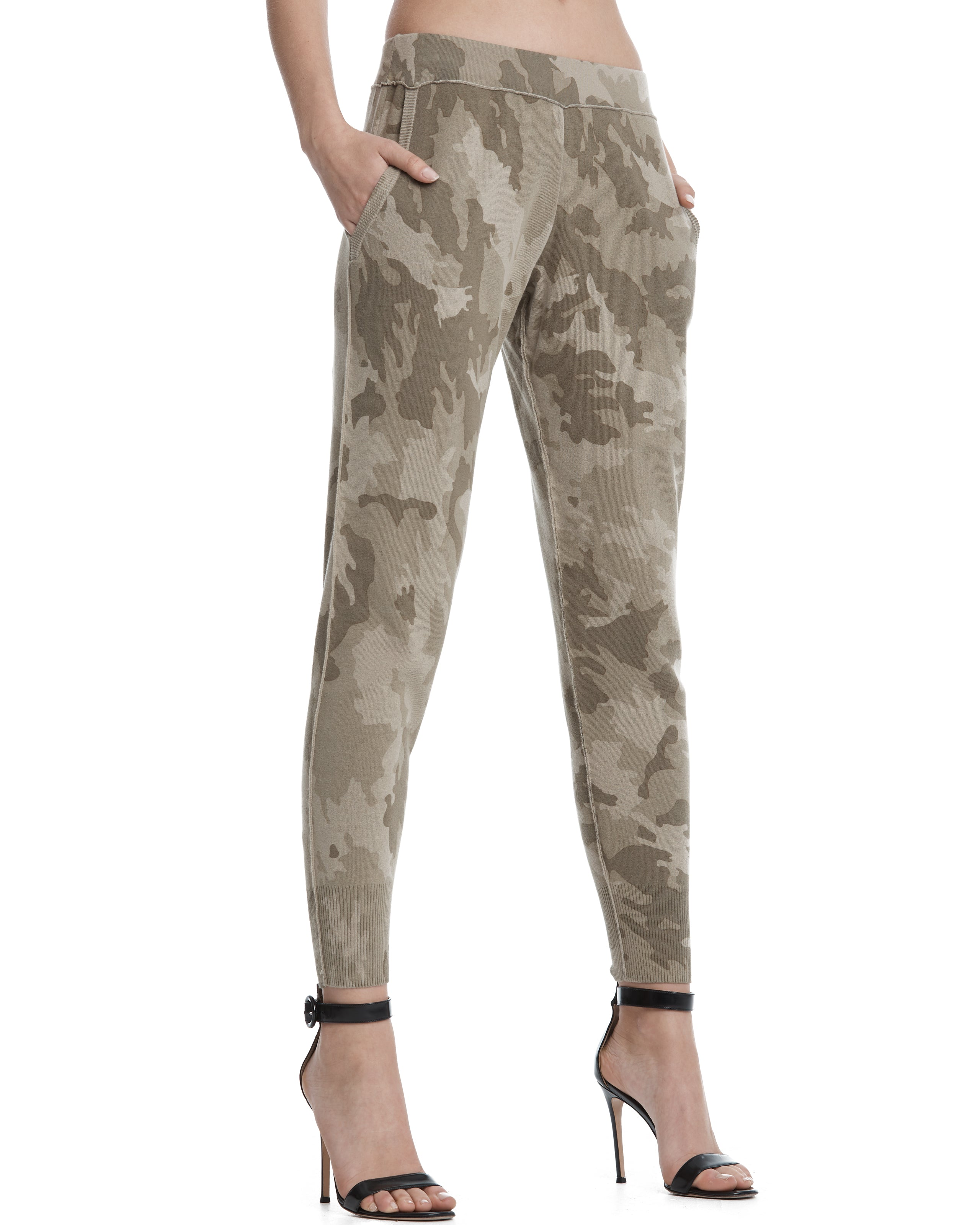 ATM Camo Cotton Sweater Pants