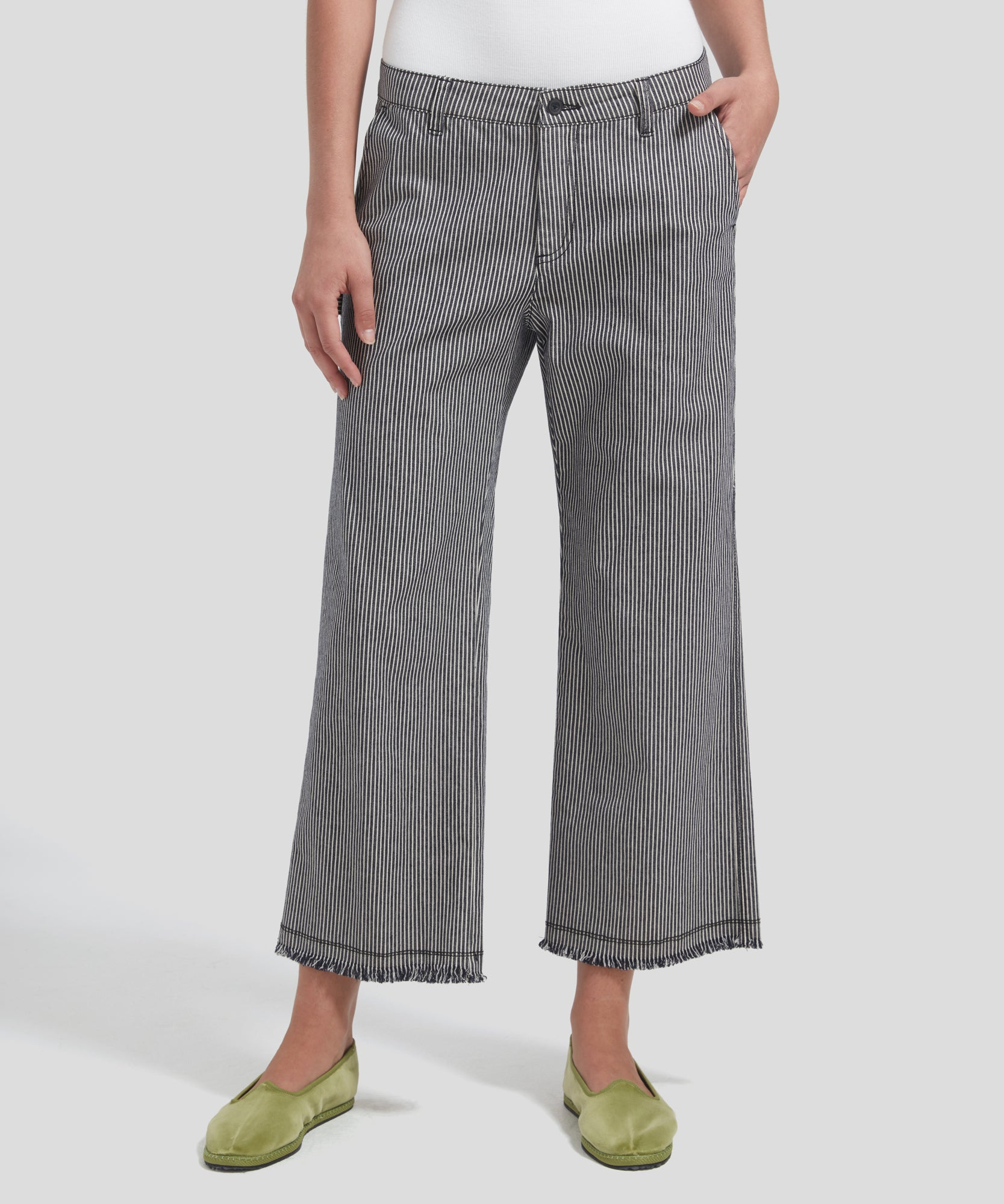 ATM Railroad Stripe Pants