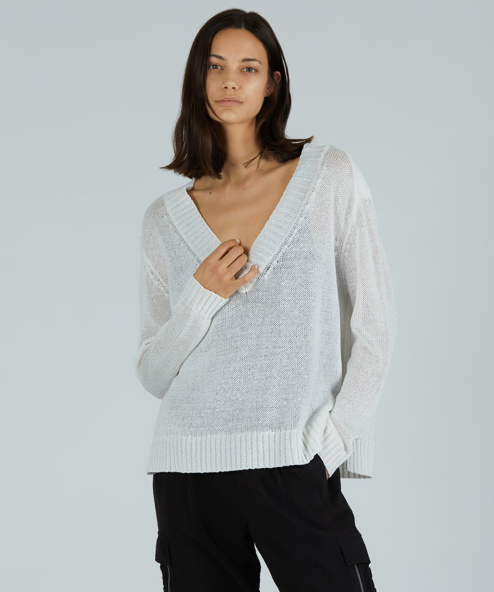 Women's Sweater by ATM Anthony Thomas Melillo