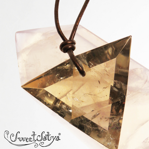SweetSatya® Crystal Necklace Length