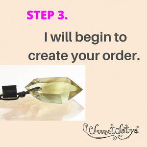SWEETSATYA® CRYSTAL SHOPPING ORDERS