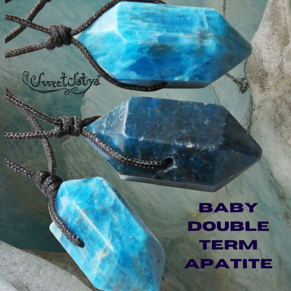 Apatite Double Terminated Necklace SweetSatya